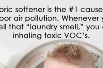 Fabric Softener Is the No.1 Cause of Indoor Air Pollution. Make Your Own with this DIY Recipe