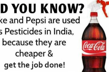 You Can Actually Use Coca Cola & Pepsi as a Pesticide so Why Do We still Drink them?!