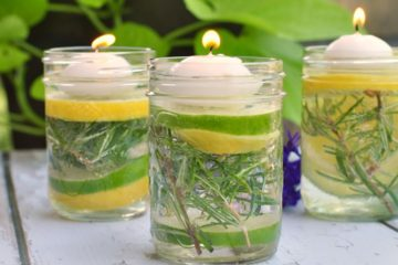 Put these Bug-Repelling Mason Jars outside & You Will never See a Mosquito