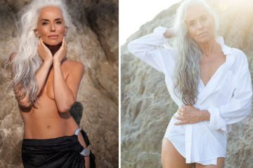 63-Year Old Model Stuns the World: She Shares Her Secrets for Graceful Aging