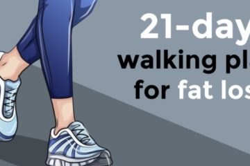 21-Day Walking Plan for a Fast Loss of Fat & Weight Loss