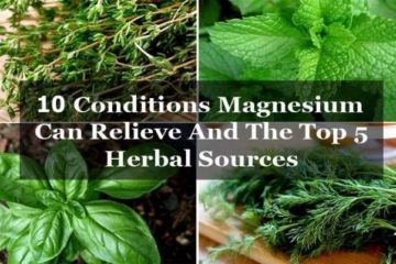 Crucial Mineral: Magnesium Can Relieve these 10 Conditions (+5 Herbal Sources)