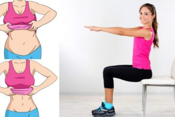 5 Important Chair Exercises to Burn Belly Fat while Sitting