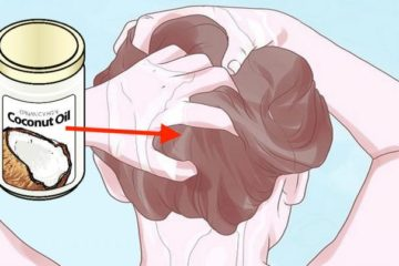 Put Coconut Oil on the Hair: It Prevents Premature Greying, Thinning & Falling Out