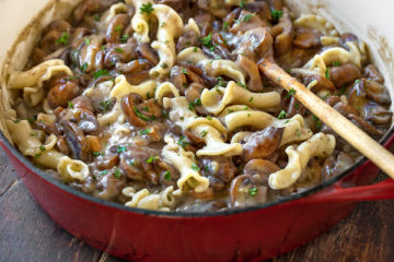 Vegan Deliciousness: Mushroom Stroganoff Recipe