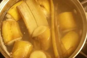 Banana & Cinnamon Tea for Deep & Calm Sleep
