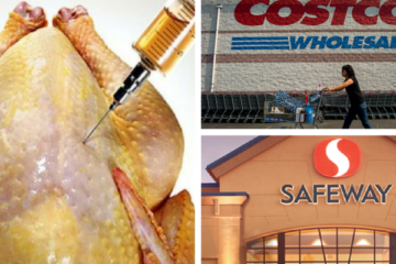 Walmart, Kroger & Costco Received Falling Grades due to Selling Antibiotic-Full Meat