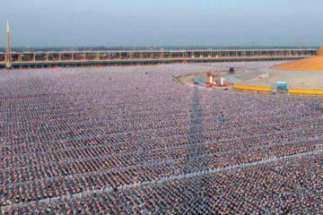 Million Children in Thailand Gather to Meditate for World Peace