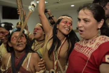 Ecuador Amazon Tribe Wins First Victory against Oil Companies
