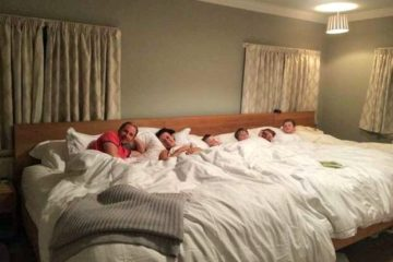 Giant Family Beds: Ideal for Co-Sleep Families