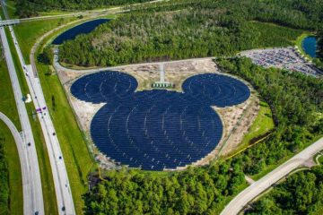 Disney, the Magic Kingdom, Goes Green