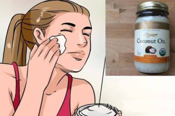 Remove Blemishes & Wrinkles by Washing Your Face with Coconut Oil