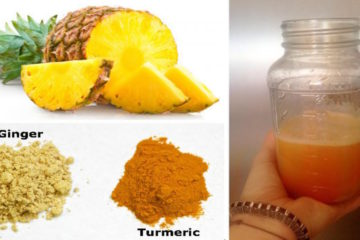 Pineapple & Turmeric Soothing Beverage: Reduces Inflammation & Fights Off Common Cold