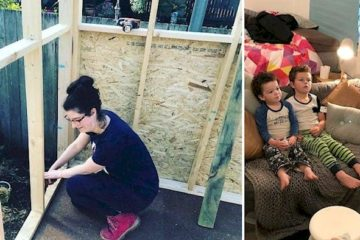 Single Mom on the Verge of Becoming Homeless Builds a $10K Tiny Home