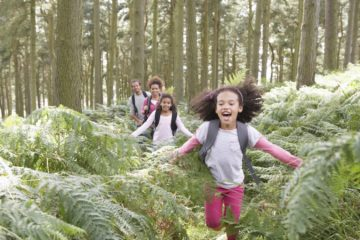 Children Who Grow Up Surrounded by Nature Are Happier Adults, a Study Finds