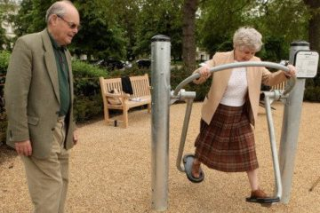 Playgrounds for Elderly Found to Boost Activity & Lower Loneliness