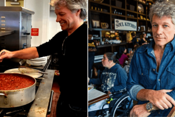 Jon Bon Jovi Opened Two Restaurants for People to Eat for Free