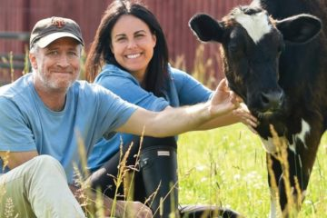 Jon Stewart Turns His 45-Acre Farm into an Animal Safe Haven