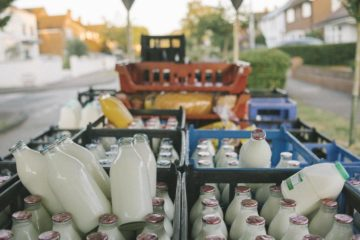 Will Milkmen Make a Comeback in London after Millenials Order Milk in Glass Bottles to Help Reduce Plastic Pollution?