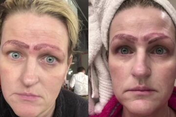 Oh, No: This Woman's Microblading Procedure Resulted in Her Having 4 Eyebrows