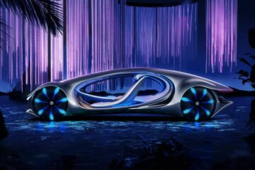 Mercedes Concept Car Inspired by Avatar Looks Otherworldly