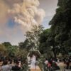 A Wedding to Remember: Couple Says 'Yes' as the Philippines Volcano Begins to Erupt