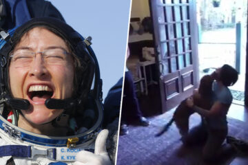 Christina Koch, Record-Breaking Astronaut, Has Emotional Reuniting with Her Dog after Being 328 Days in Space