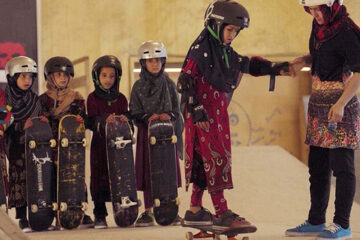 Documentary about Afghan Girls Learning to Skateboard Won an Oscar