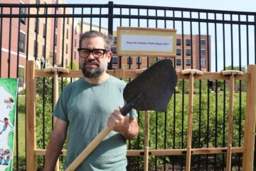 Meet Pedro Reyes, Mexican Artist Who Melts Guns & Uses Them to Create Shovels for Tree Planting
