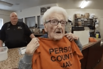 Believe It or Not, this Woman Wanted to Celebrate Her 100th Birthday in a Prison