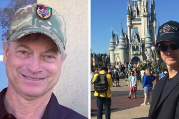 Actor Gary Sinise Took more than Thousand Children of Fallen Soldiers to Disneyland Free of Charge